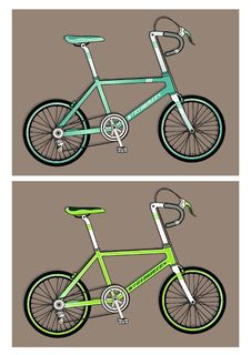 Free Two Bicycle Stock Images - 19147844