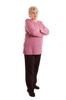 Free The Elderly Woman Stock Photo - 19148220
