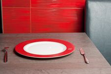Free Fork Plate And Knife Stock Images - 19148514