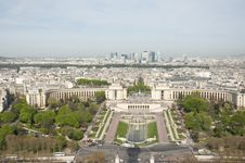 Free View Of Paris From The Eiffel Tower Stock Photo - 19148700