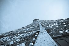 Free Abstract View Of The Eiffel Tower Stock Photography - 19148702