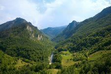 Free Montenegro. Mountains. Tara River Stock Photos - 19149373