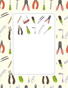 Free Cartoon Tool Card Royalty Free Stock Images - 19149579