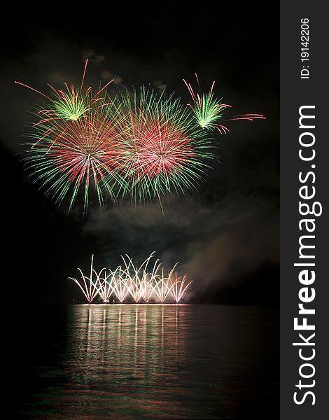 Fireworks in Brno