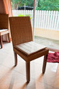 Free Wicker Chair Royalty Free Stock Photos - 19157108