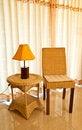 Free Wicker Chair Stock Photos - 19157183
