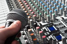 Free Sound Mixer Stock Image - 19150161