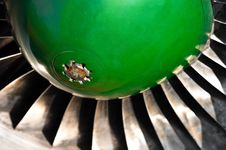 Free Jet Turbine Royalty Free Stock Image - 19150386