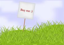 Free Buy Me Banner Stock Photo - 19150590