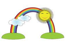 Free Rainbow Royalty Free Stock Photos - 19157158