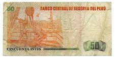 Free Banknote Peru Stock Photos - 19157273