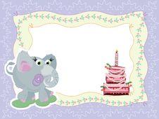 Free Birthday Frame Stock Images - 19157304