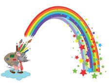 Free Rainbow Stock Photos - 19157423