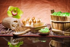 Free Composition Of Spa Accessories Stock Image - 19158501