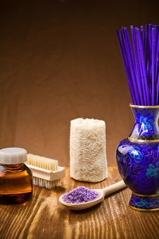 Free Composition Of Spa Accessoris Stock Images - 19158534