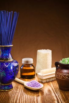 Free Spa Accessories Stock Image - 19159131