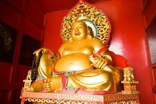 Free Maitreya Buddha Stock Photo - 19159440