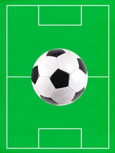 Free Soccer Pitch Stock Photography - 19159722