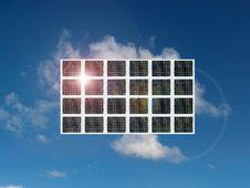 Free Solar Panel Stock Photography - 19159752