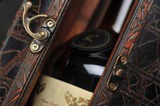 Free Cognac Bottle Stock Photography - 19159812