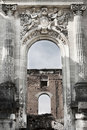 Free Copy Of Petite Trianon In Romania, Ruined Castle Stock Photo - 19163390