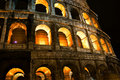 Free Coliseum By Night Stock Photo - 19163850