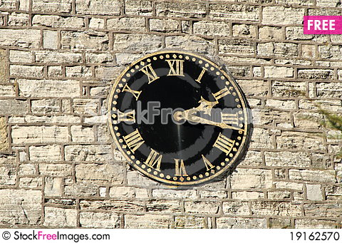 Free Church Clock Stock Photo - 19162570