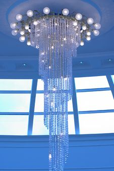 Free Crystal Chandelier Stock Photography - 19160012