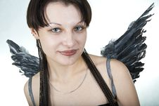 Free Female Angel Royalty Free Stock Photography - 19160367