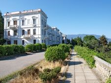 Free Livadia Palace Complex. Crimea, Ukraine Stock Photo - 19160840
