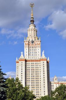 Free Moscow State University Royalty Free Stock Photo - 19161405