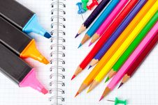 Free Color Pencils Stock Image - 19162111
