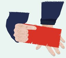 Free Red Card Stock Images - 19162154