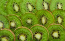 Free Kiwi Slices Forming Background Royalty Free Stock Photos - 19162408