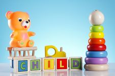 Free Toys! Fun And More! Royalty Free Stock Photo - 19162575