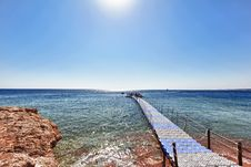 Free Beach On The Red Sea Royalty Free Stock Photos - 19162818