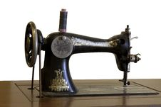 Free Old Sewing Machine Stock Images - 19162964