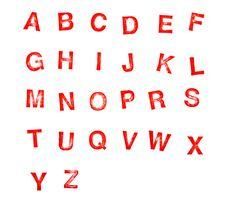 Free Alphabet Stock Photo - 19163090