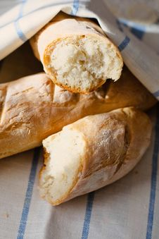 Free French Bread Royalty Free Stock Photos - 19163448