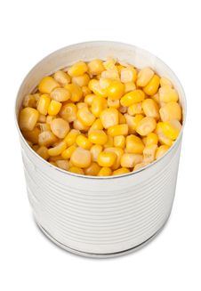 Free Corn In Can Royalty Free Stock Photography - 19163537