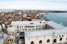 Free Venice From Above Royalty Free Stock Images - 19163719