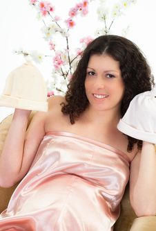 Free Portrait Of A Pregnant Woman Stock Images - 19164634