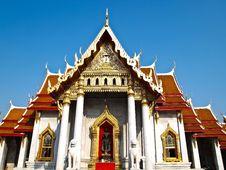 Free Benchamabophit Temple In Bangkok , Thailand Stock Photo - 19165130