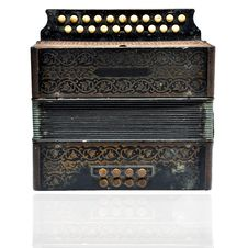 Free Vintage Accordion Royalty Free Stock Images - 19165219