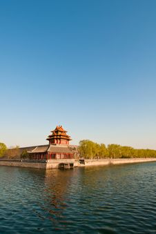 Free China Ancient Watchtower Royalty Free Stock Images - 19165449
