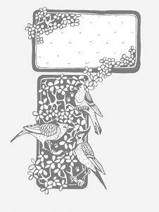 Free Beautiful Birds Background Royalty Free Stock Photography - 19165527