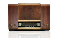 Free Vintage Wooden Radio Stock Images - 19165784