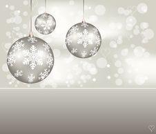 Free Elegant Christmas Background Royalty Free Stock Photos - 19165858
