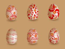 Free Easter Eggs Royalty Free Stock Photos - 19165968