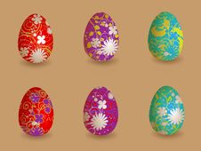 Free Easter Eggs Royalty Free Stock Images - 19165979